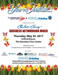 Spring 2017 Business Mixer Invitation