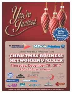 Invitation Christmas Business Mixer 2017