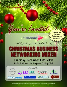 Christmas Mixer Invitation 2018