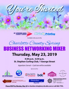2019 Spring Business Mixer Invitation