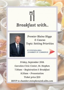 Breakfast with Premier Blaine Higgs Invitation FINAL