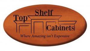 Top Shelf Cabinets Sponsorship Logo