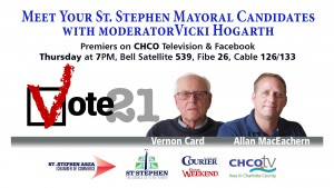 Meet Your St. Stephen Mayoral Candidates Premiere Date 2021