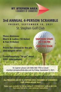 2021 SSACOC Golf Tournament Poster FINAL
